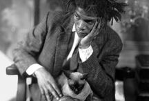 """Jean Michel Basquiat / """"I don't listen to what art critics say.  I don't know anybody who needs a critic to find out what art is.""""--Jean Michel Basquiat"""