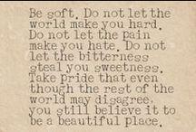 quotes <3 / by Megan Ecklar