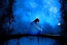 Blue / by Sheila Ridgway