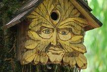 Garden Birdhouses / by Sheila Ridgway