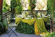 Dining in the Garden / by Sheila Ridgway