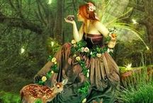 Fairies and Garden Hide Outs / by Sheila Ridgway