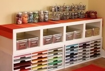 Crafts: Craft room and home office / by Isabelle Potter @ IzzyCards