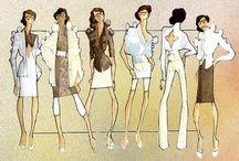 croqui / fashion, illustration, sketches