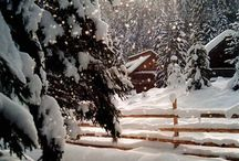 Bon Hiver-- Melancholy were the sounds on a winter's night.-Virginia Woolf