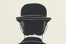 Bowler / My homage to Rene Margritte. And my favorite collectible.