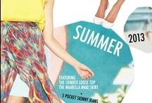 Summer Fashion / Summer 2016