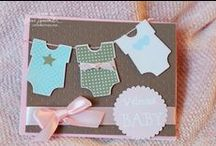 Card making: Baby Shower / by Isabelle Potter @ IzzyCards