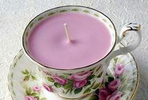Crafts: Candle making / by Isabelle Potter @ IzzyCards