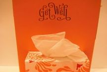 Card making: Get well / by Isabelle Potter @ IzzyCards