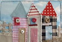 Crafts: Appliques / by Isabelle Potter @ IzzyCards