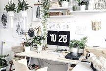 Arbeitszimmer - Homeoffice / Arbeitsplatz, Büro, Office, Home Office, Work From Home, Workspace, Office Space, Productivity, Organization, Workspace, Working From Home,, Motivation, Dream Office, Dream Home, Interior