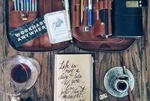 Schreibwaren ~ stationary / Office supplies und Nützliches zum basteln und Bullet journaling