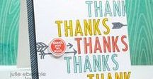 Thank You Projects / Say thank you with a handmade card.