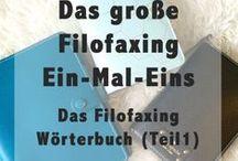 Filofax & Filofaxing / und andere Ringbuchplaner