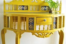 Accent tables / by Geetha Subbu