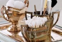 Powder dressing and bath