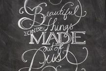 Typography ....Quotes / by Geetha Subbu
