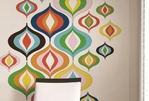 wall treatments and colours