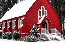 Country Chapels & Ornate Churches / by ✿*゚゚・✿.。*   brenda *.。✿*゚゚・✿