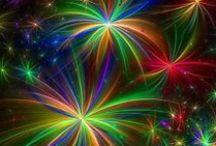 color the night sky / ~**fireworks**~ / by ✿*゚゚・✿.。*   brenda *.。✿*゚゚・✿