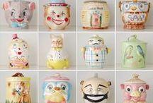 cookie jars / by ✿*゚゚・✿.。*   brenda *.。✿*゚゚・✿