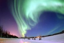 Aurora Borealis & Our Wondrous Sky / Aurora Borealis (or the northern lights), is named after the Roman goddess of dawn, Aurora, and the Greek name for the north wind, Boreas / by ✿*゚゚・✿.。*   brenda *.。✿*゚゚・✿
