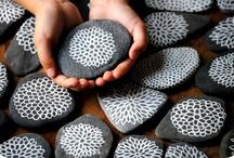 Pebble...Stone & shell art...craft