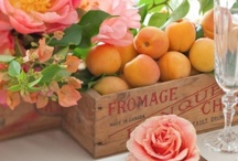 Peach weddings