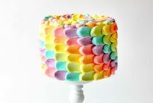 love: Rainbows / Inspiration for Rainbow Parties and Treats / by The Cake Blog