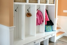 Home - Mudroom/Entry / by Julie .