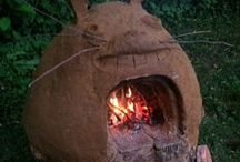 Cob oven / by Michelle Russell, Green Kitchen Craft