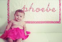 Personalized baby Quilts / www.facebook.com/tracybugcreative