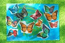 Art for Kids / A collection of art projects or ideas perfect for anyone, not just homeschoolers!