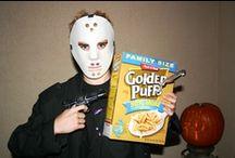 Jack O Lanterns & Jesters / Pumpkins &  Costumes