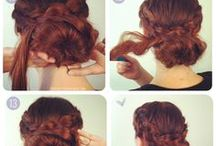 hair diy / hair updo tutorails