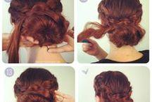 hair diy / hair updo tutorails