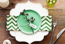 Dinning table scape