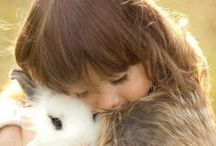 a childs love for animals / Kids love all types of animals / by ✿*゚゚・✿.。*   brenda *.。✿*゚゚・✿