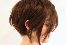Hair - Medium / Medium length hair styles with an eye to growing it out.