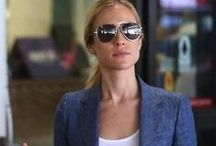 Chic Jet-Setters / Chic jet set looks from working women and celebrities traveling all over the world.