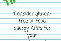 FoodASC Tips-food allergy and gluten free / Tips for people with food allergies and celiac disease.  Gluten free living.