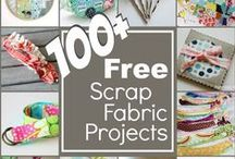 SEWING: Scrap Inspiration / What to do with those pesky little bits of goodness! Each project is the perfect use for fabric scraps.  Enjoy the inspiration.  / by Heather Valentine