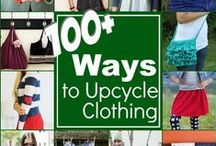 UpCycle: Projects / Great projects to make from UpCycled and Reclaimed materials. If you love to refashion and update your clothing and old fabric into new projects, you are in the right place! These inventive and creative refashioning ideas will blow you away! http://thesewingloftblog.com
