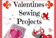 Valentine's Day / Show your loved ones you care with these Valentines Day sewing projects and crafts. Collection of things to make, sew and bake for Valentines Day. http://thesewingloftblog.com