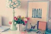 Around the House / Home crafts, home decorating inspiration and home photos / by Kristin Bustamante