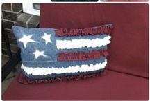 July 4th / Fun projects and easy decorations to help celebrate July 4th. Make your party the best ever with these fun crafts, cakes, 4th July fabric and sewing projects, and more. http://thesewingloftblog.com
