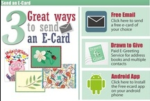 CAP Ecards / 3 ways to send an ecard with CAP click here to learn more http://www.childrensart.org/default.php?ourdata=ecard / by MD Anderson Children's Art Project