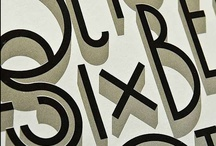 Typography / by Drika Drikolina