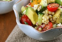 ummy salads / by Lynnette Mitchell